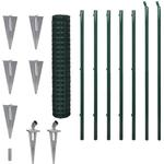 vidaXL Set Spike Euro Fence 10mx150cm