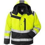 Men - Warning Jacket Work Jacket Fristads Kansas 4043 PP High Vis Winter Jacket