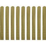 Fence Poles vidaXL Impregnated Fence Slat 9x100cm