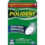 Dentures & Dental Splints Polident Overnight Denture Cleanser Tablets 84-pack