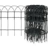 vidaXL Garden Lawn Edging Border Fence 10mx40cm