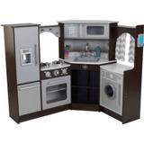 Kitchen Toys Kidkraft Ultimate Corner Play Kitchen With Lights & Sounds 53365