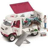 Play Set Schleich Mobile Vet with Hanovarian Foal 42370