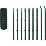 Fence Netting vidaXL Euro Fence Set 10mx100cm 142393