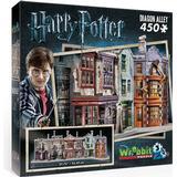 3D-Jigsaw Puzzles Wrebbit Harry Potter Diagon Alley 450 Pieces