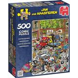 Classic Jigsaw Puzzles Jumbo Traffic Chaos 500 Pieces