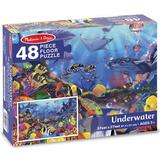 Melissa & Doug Underwater Floor Puzzle 48 Pieces