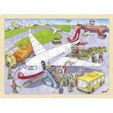 Classic Jigsaw Puzzles Goki At the Airport 96 Pieces