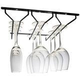 Hahn Metro Linear 3 Row Stemmed Wine Glass Hooks & Hangers
