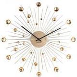Wall Clocks Karlsson Sunburst Crystal 50cm Wall Clock