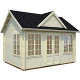 Small Cabin Palmako Claudia 11,5m² (Building Area 12 m²), Pre-set Package