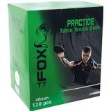 Table Tennis Balls Fox Practice 120-pack