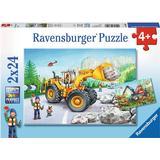 Ravensburger Diggers At Work 2x24 Pieces