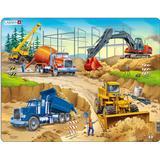 Classic Jigsaw Puzzles Larsen Construction 30 Pieces