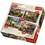 Trefl Dinosaurs 4-in-1