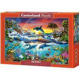 Classic Jigsaw Puzzles Castorland Paradise Cove 3000 Pieces