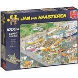 Classic Jigsaw Puzzles Jumbo Jan Van Haasteren The Locks 1000 Pieces