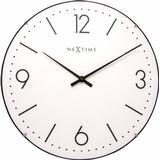 Wall Clocks Nextime Basic Dome 35cm Wall Clock
