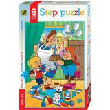 Classic Jigsaw Puzzles Step Puzzle Karlsson on the Roof 360 Pieces