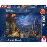 Classic Jigsaw Puzzles Schmidt Thomas Kinkade Disney Beauty & The Beast 1000 Pieces