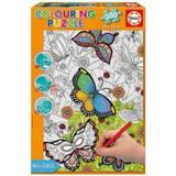 Draw-yourself Puzzles Educa All Good Things are Wild & Free 300 Pieces
