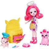 Dolls & Doll Houses Mattel Enchantimals Baking Buddies Playset