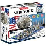 4D Jigsaw Puzzles 4D Cityscape New York 840 Pieces