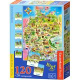 Castorland Deutschlandkarte 180 Pieces