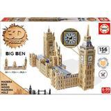 3D-Jigsaw Puzzles Educa 3D Monument Puzzle Parliament & Big Ben 156 Pieces