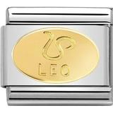 Charms & Pendants on sale Nomination Composable Classic Link with Leo Symbol Charm - Silver/Gold