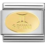 Charms & Pendants on sale Nomination Composable Classic Link with Gemini Symbol Charm - Silver/Gold