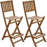 Outdoor Furniture vidaXL 42656 2-pack Bar Stool