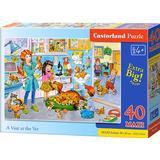 Castorland A Visit at the Vet Maxi 40 Pieces