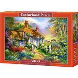 Classic Jigsaw Puzzles Castorland Forest Cottage 3000 Pieces