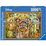 Classic Jigsaw Puzzles on sale Ravensburger The Best Disney Themes 1000 Pieces