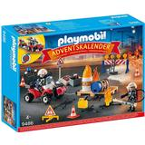 Advent Calendars on sale Playmobil Fire Brigade on the Construction Site Advent Calendar 2018 9486