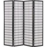 Room Dividers vidaXL 4 Panels Japanese Style 160cm