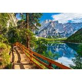 Classic Jigsaw Puzzles Castorland Braies Lake Italy 1000 Pieces