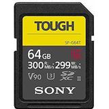 Memory Cards Sony Tough SDXC Class 10 UHS-II U3 V90 300/299MB/s 64GB