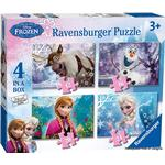Ravensburger Disney Frozen 4 in Box 72 Pieces