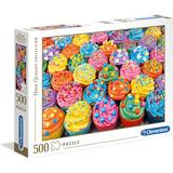 Classic Jigsaw Puzzles Clementoni High Quality Collection Colorful Cupcakes 500 Pieces