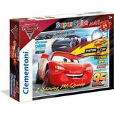 Clementoni Disney Pixar Cars 3 Friends for the Win Supercolor Maxi 24 Pieces