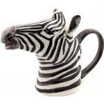 Oscar & Clothilde Zebra Pitcher