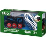 Train BRIO Rechargeable Engine with Mini USB Cable 33599