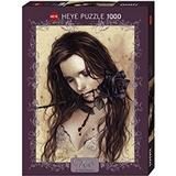 Heye Dark Rose 1000 Pieces