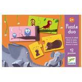 Djeco Mom & Baby 12 Puzzle
