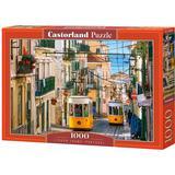 Castorland Lisbon Trams Portugal 1000 Pieces