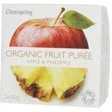 Clearspring Organic Fruit Puree Apple & Pineapple 200g