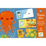 Classic Jigsaw Puzzles Djeco Duo Play Hide & Seek 24 Pieces