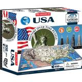 4D Jigsaw Puzzles 4D Cityscape The Country of USA 950 Pieces